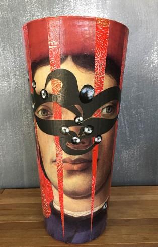 12 Decoupage Masquerade 12 30x15