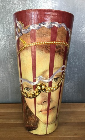 13 Decoupage Masquerade 13 30x15