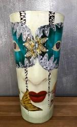 21 Decoupage Masquerade 21 30 x 15