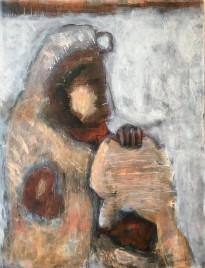 05 Umbra Mother & Child 80 x 65 Mixed Media